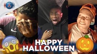 Halloween Prank! | feat. Kylian Mbappe, Thiago Silva , Nkunku, Areola ...