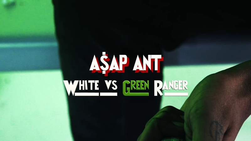 YGADDIE A$AP ANT White Vs Green Ranger Official Video HHH
