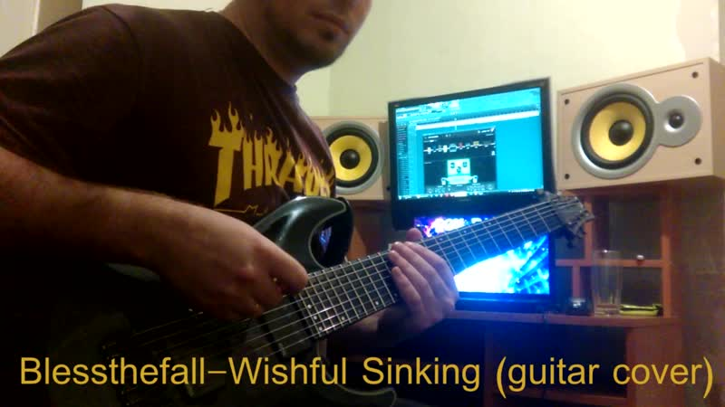 Blessthefall - Wishful Sinking (guitar cover)
