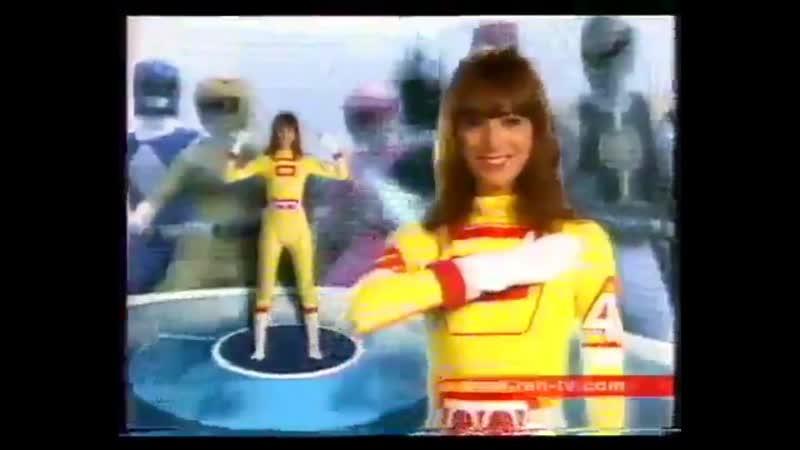 Рекламная заставка (REN-TV, 01.09-21.12.2003) Девушка с костюмом робота