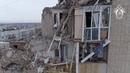 Место взрыва газа в г. Шахты. Съемка с квадрокоптера.