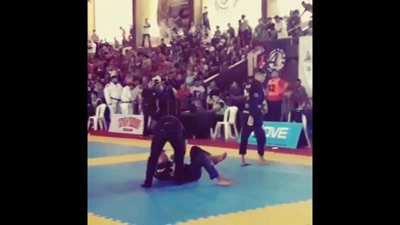 Габриел Луз: чёткий саб. Open Conde Koma de Jiu-Jitsu 2018.