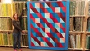 Fear Not Curved Patchwork Wave Runner Quilt Tutorial