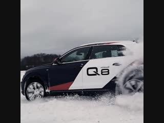 Долгожданное открытие школы Audi quattro!