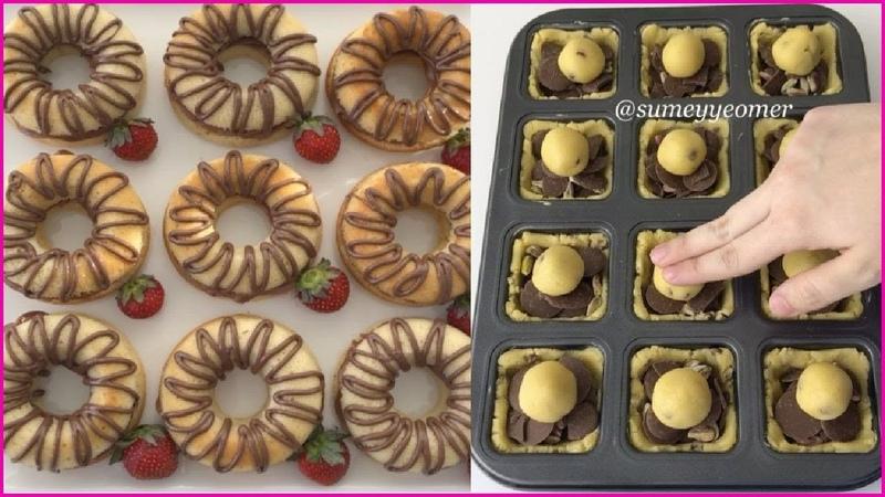 حلويات العيد 🍥2018 اصنعي أروع الحلويات بأبسط 15