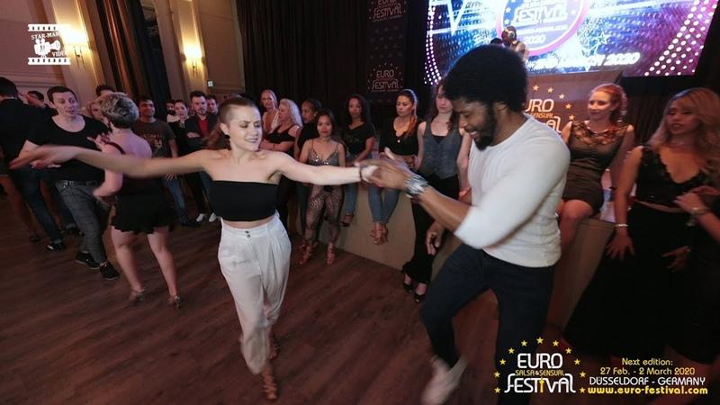 Terry SalsAlianza Isabel Freiberger - social dancing @ Euro Salsa Sensual Festival