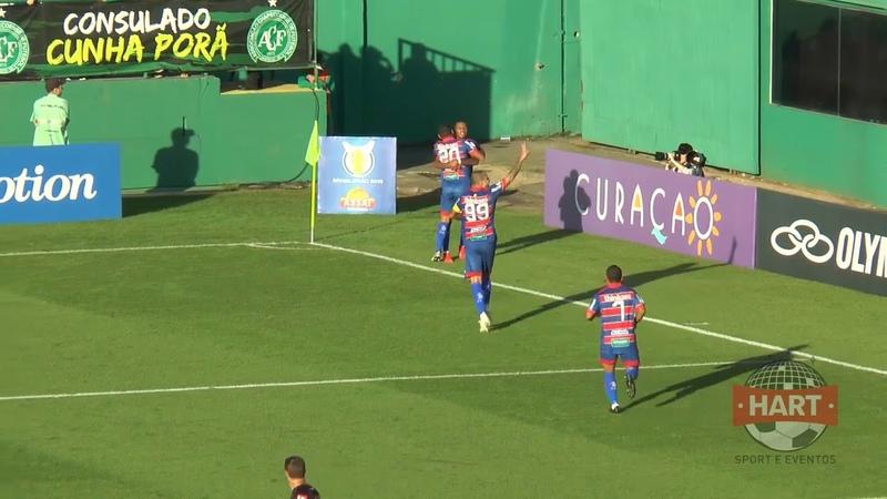 Chapecoense 1 x 1 Fortaleza gol MARCINHO série A 2019