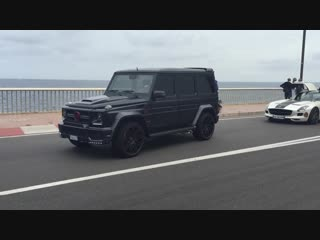 Awesome G-Wagons in Monaco - Mansory Brabus - Accelerations
