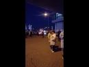 Пожар ТЦ Мега Белая Дача 02.10.2018 18:50