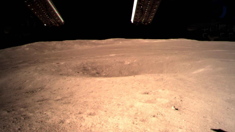 China's Chang'e-4 probe lands on far side of the Moon in world first