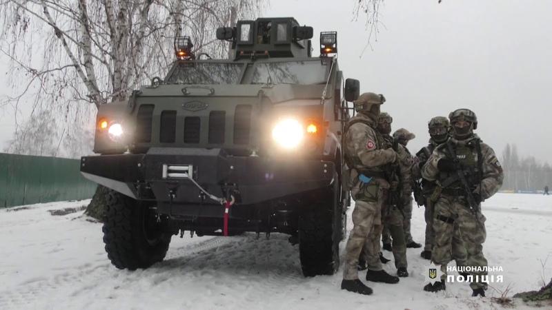 Одеські правоохоронці взяли участь у масштабних тактико-спеціальних навчаннях МВС