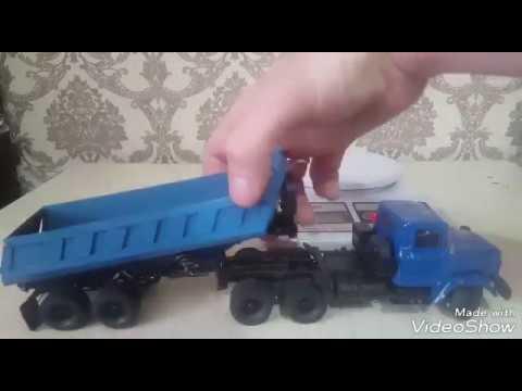 RC КрАЗ 6444 седельный тягач в масштабе 1 43и прицеп ТОНАР