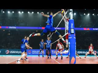 Volleyball player without gravitation victor poletaev