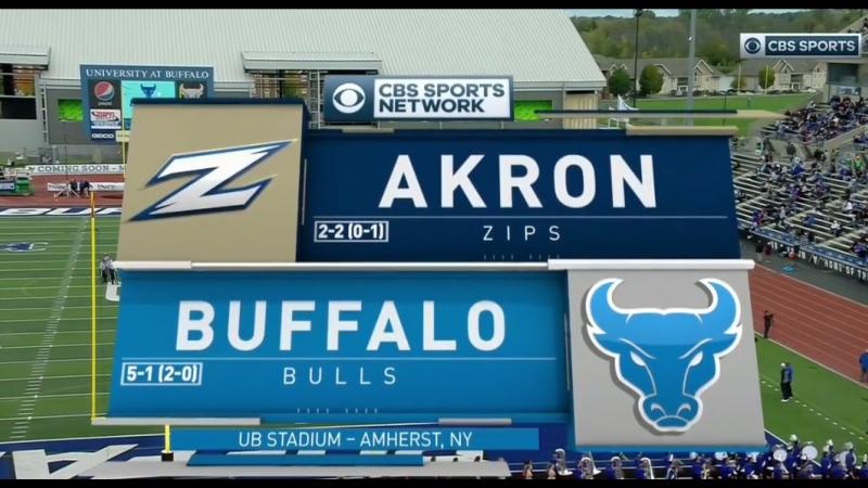NCAAF 2018 Week 07 Akron Zips - Buffalo Bulls EN