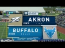 NCAAF 2018 / Week 07 / Akron Zips - Buffalo Bulls / EN