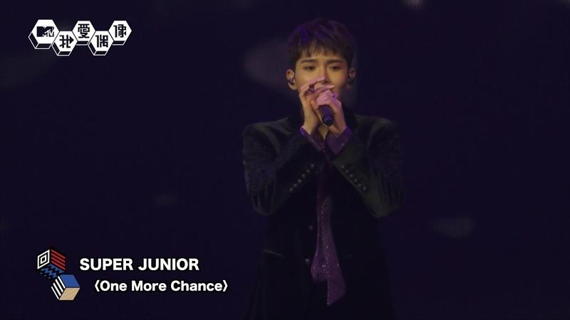 【Live】SUPER JUNIOR (슈퍼주니어)厲旭歸隊!合體演唱〈One More Chance〉超好聽!|20181008|我愛205