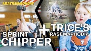 Sprint Chipper + Trice's Rasemaphobia (fear of lawnmowers) // Mayhem Monday 04.01.19