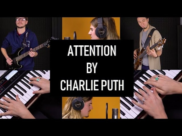 Charlie Puth Attention split screen multi screen cover song by Movavi Vlog