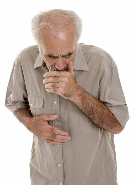 Постоянный кашель может быть симптомом хронического бронхита