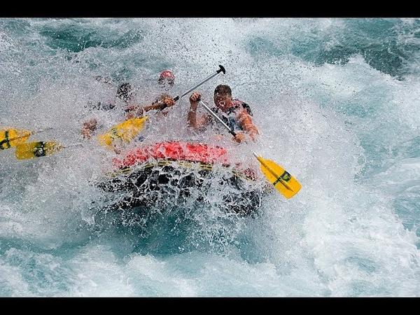 Отдых в Лоо 2018г День пятый и т д Сплав по реке Мзымта кафэшки и местный колорит