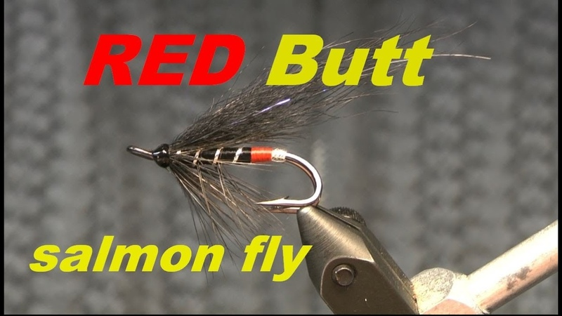 Tying the Red Butt salmon fly Лососевая мушка Ред Батт