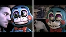 FNAF survive the night new and old comparison