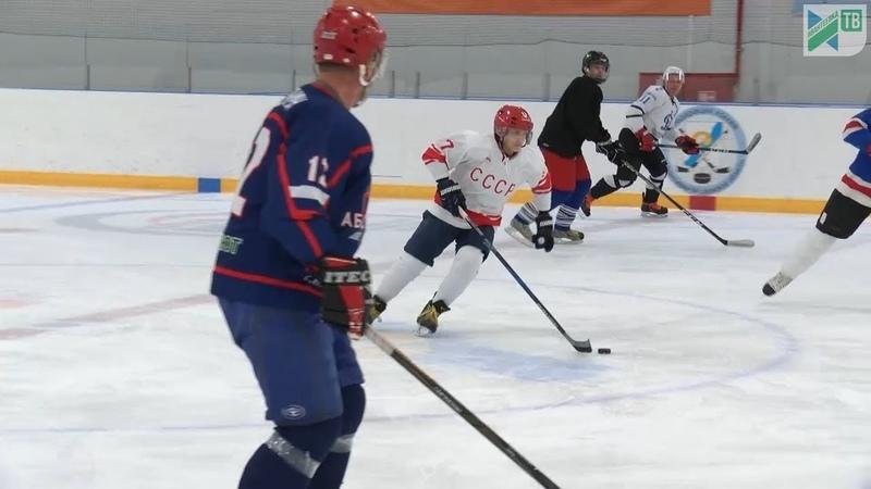 Спортивная Ивантеевка Возраст хоккею не помеха