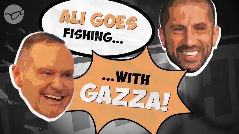 Ali Hamidi goes carp fishing with Gazza | Korda 2018 | Paul Gascoigne