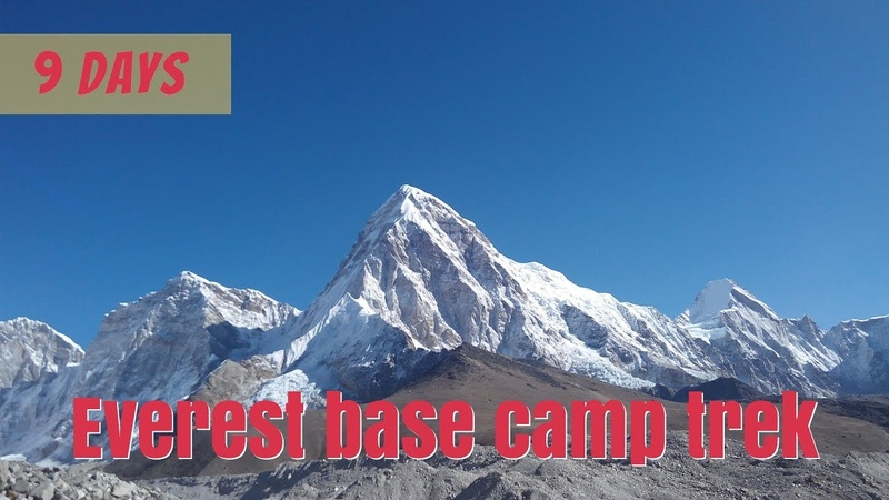 Helicopter return Everest base camp trek 9 days