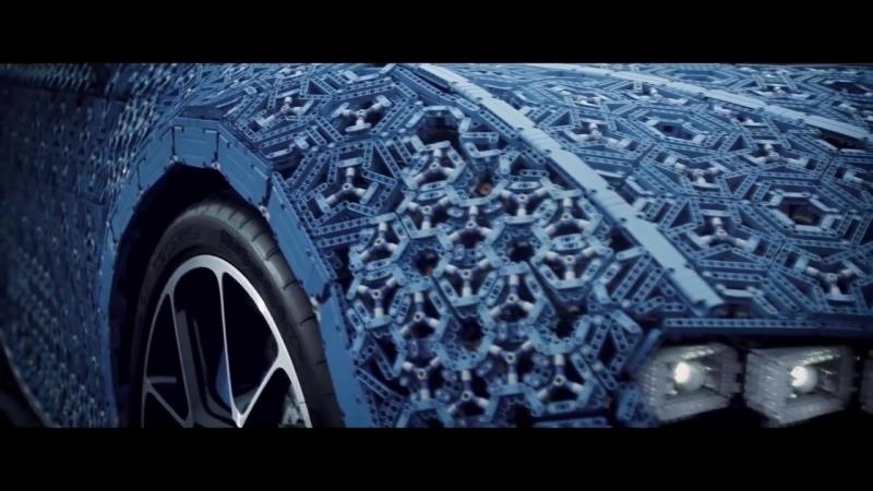 Bugatti Chiron in Lego Technic