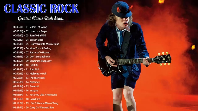Top 100 Best Rock Songs Of All Time | Greatest Classic Rock Songs The 80's 90's