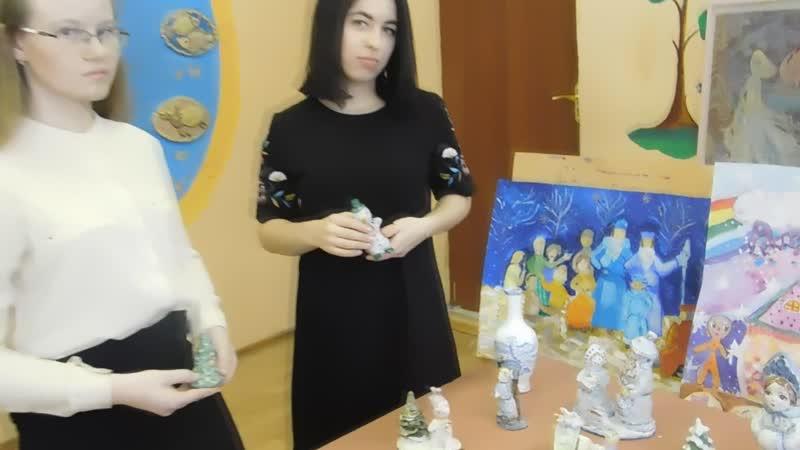 Интервью на ВЫставке Гжельской майолики