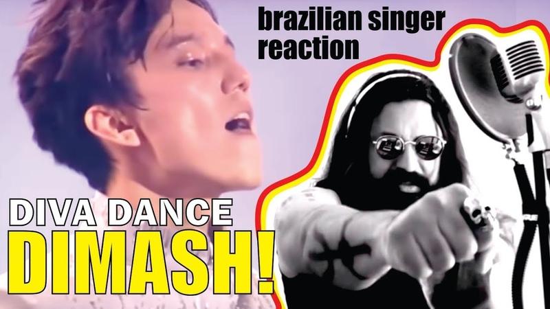 Brazilian Singer reacts DIMASH DIVA DANCE Bastau SUBS