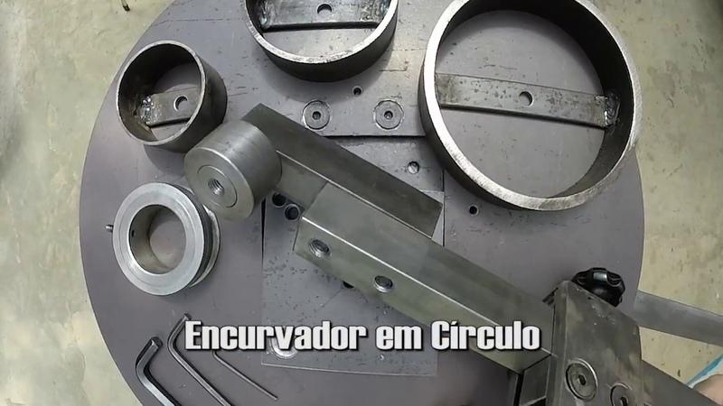 MAQSERRA v2 - Máquina para Serralheria Torcedora e Encurvadura de Ferro e Aço
