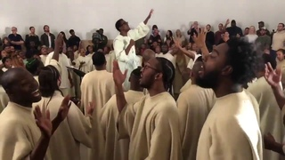 Kanye West Church Service with Sia | We Lift Our Voices To God