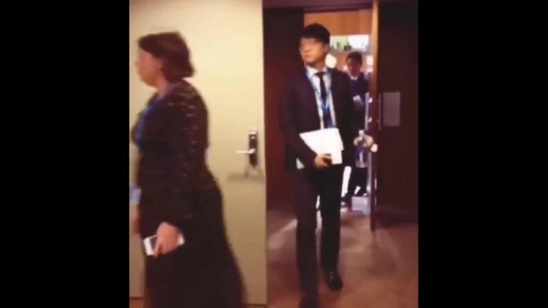 BTS уходят после выступления на Генеральной Ассамблее ООН