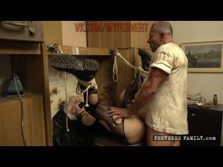 [perversefamily.com] busty bondage - anna de ville, brittany bardot, george uhl, mila milan (2019)