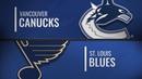 Vancouver Canucks vs St. Louis Blues Dec.09, 2018 NHL Game Highlights Обзор матча
