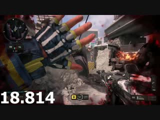 Got 9-Banged and had my hand up for almost 20 seconds. Black Ops 4