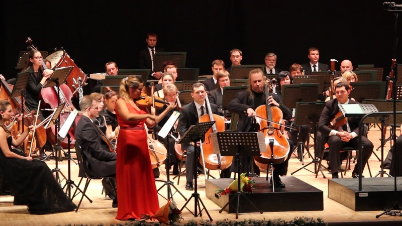 Пассакалия Г.Ф. Генделя. Мария Солозобова (скрипка) и Денис Шаповалов (виолончель). Открытие 80-го сезона