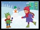 Учим Стихи про Зиму и Новый Год - Стихи для самых маленьких