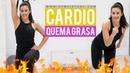 Patry Jordan - Quemar grasa y eliminar los rollitos | Кардио-тренировка для похудения на 20 минут