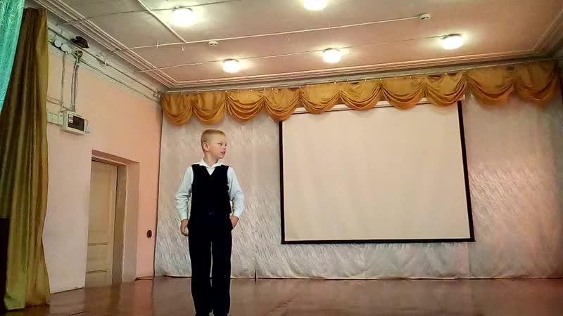 КОНКУРС ЧТЕЦОВ В ЦДО - 1 -4 КЛАССЫ Видеооператор Владимир Смелов Устюжна