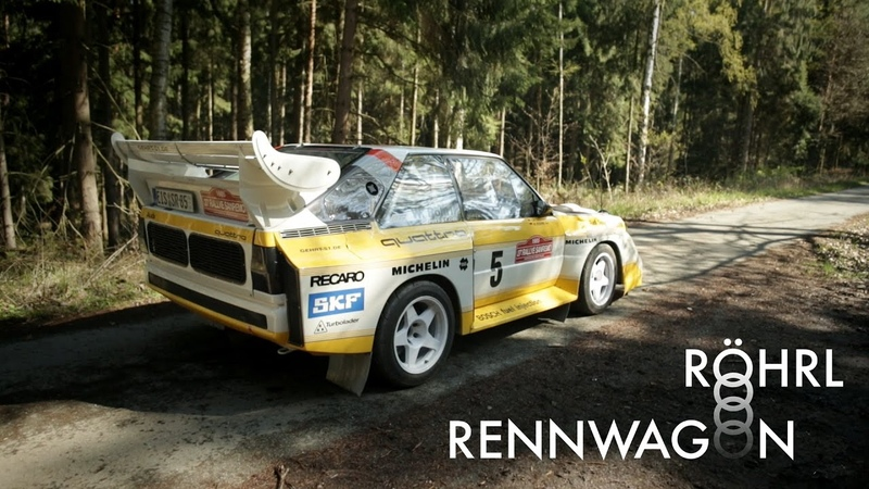 This Audi Sport Quattro S1 E2 Replica Is Keeping Historic Group B Rallying In Motion