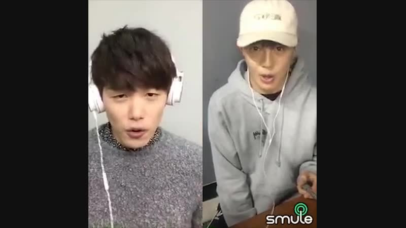 [SMULE] 동훈(Donghun) - 저와 함께 (Good For You) with Eric Nam
