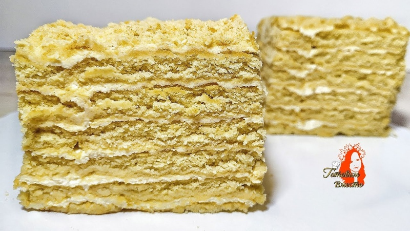 Потрясающий Торт за 10 минут. Без выпечки!