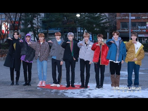 181214 Music Bank - NCT127 On The Way to Work
