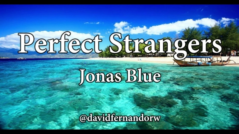 Perfect stranger - jonas blue- ( Lyrics )
