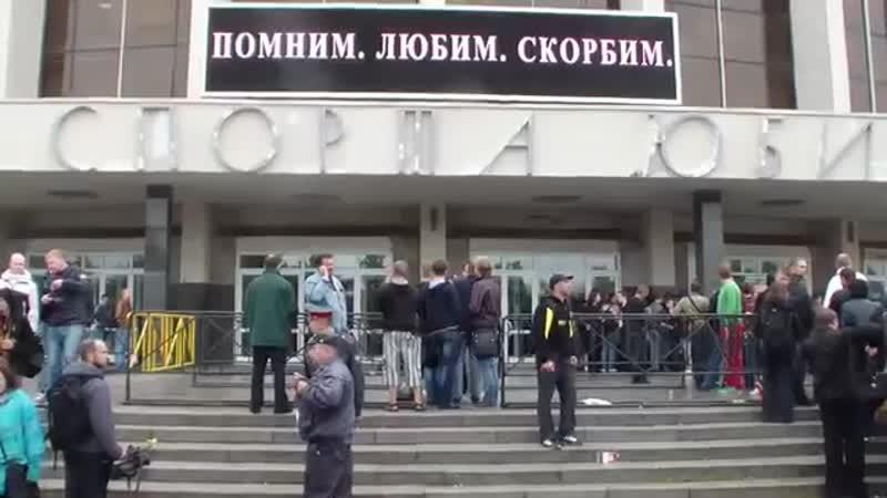говнари на похоронах Горшенёва