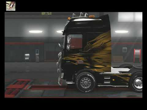 74 - Euro Truck Simulator 2 - Ольга Дальнобоищик - Реис Санкт-Петербург - Венеция 05.01.2019!